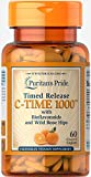 Puritan's Pride Vitamin C-1000 mg with Rose Hips Timed Release-60 Caplets For Sale