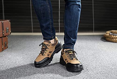 Arrampicata Antinfortunistici Khaki Basse Nero Scarpe Trekking Cachi Army Sneakers Acciaio Respirabile All'aperto 46 Green Escursionismo Uomo Invernali 35 Con Da Puntale In Lavoro Sportive xTU0IUn
