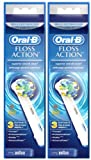 oral b 900 - Oral B FlossAction Electric Toothbrush Replacement Brush Heads - 3 ct - 2 pk