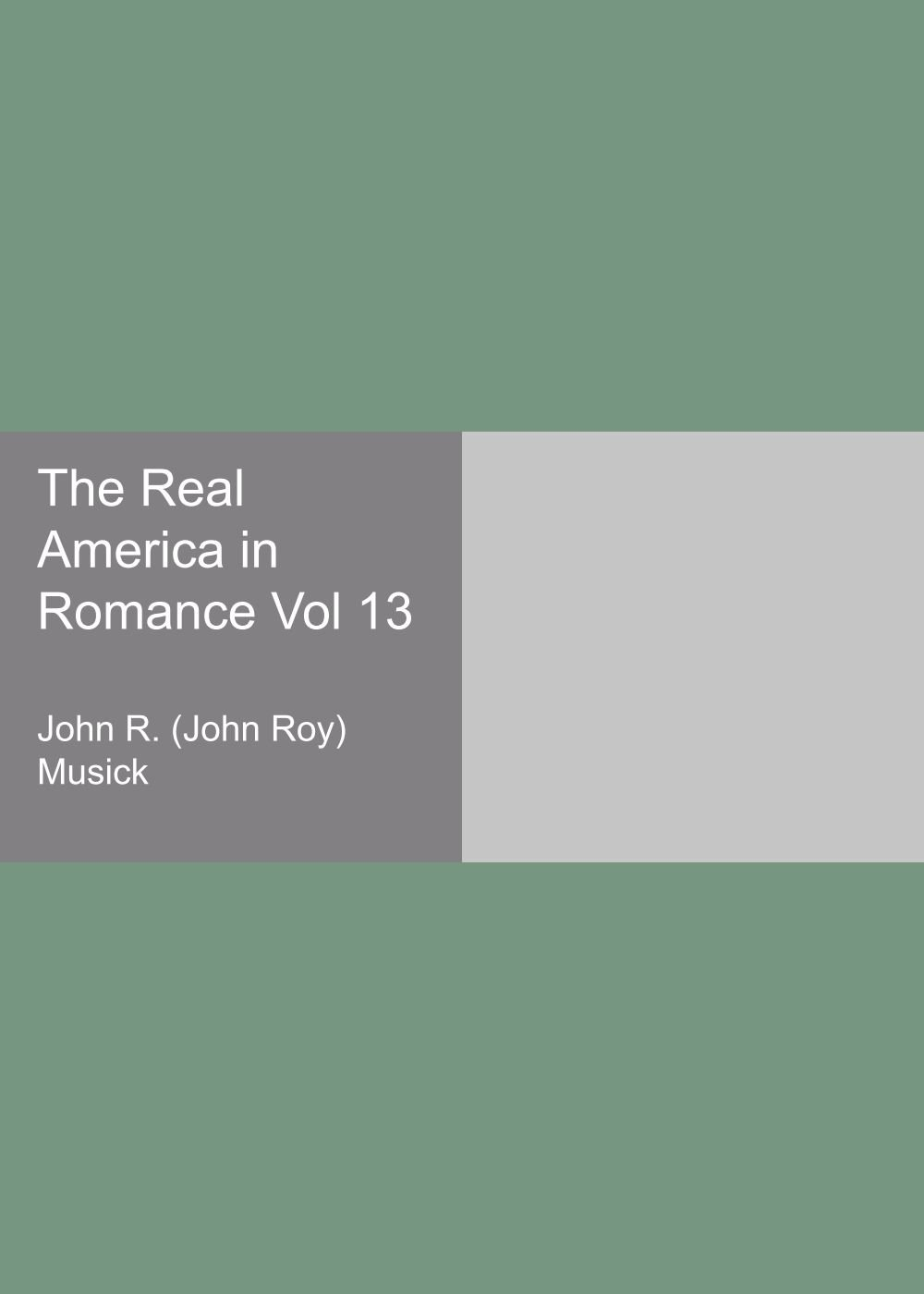 The Real America in Romance Vol 13 ebook