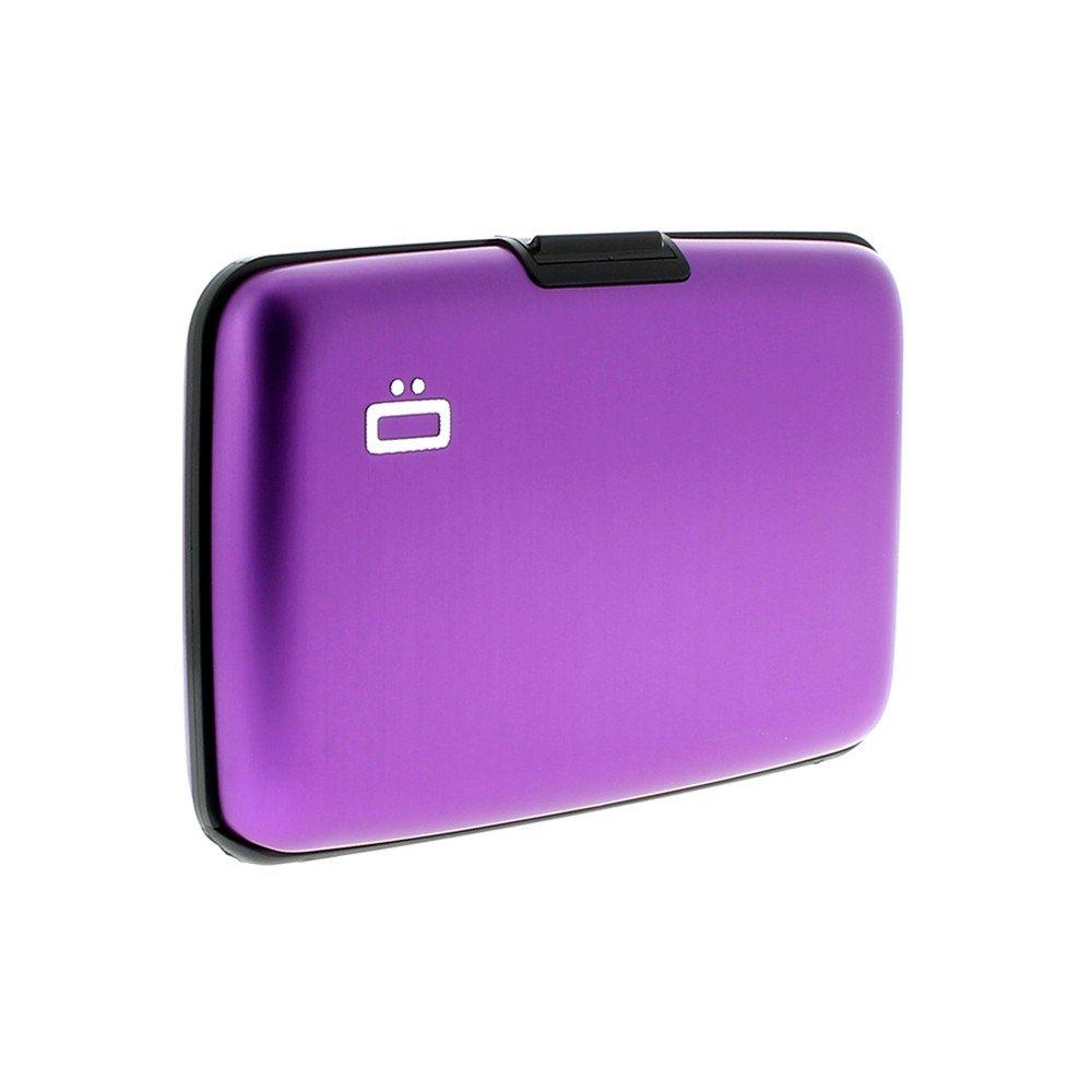 Ögon designs ST-Purple Porte-cartes Stockholm Aluminium anodisé Violet OGON