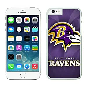 Baltimore Ravens iPhone 6 Cases 10 White 4.7 inches67667_53446