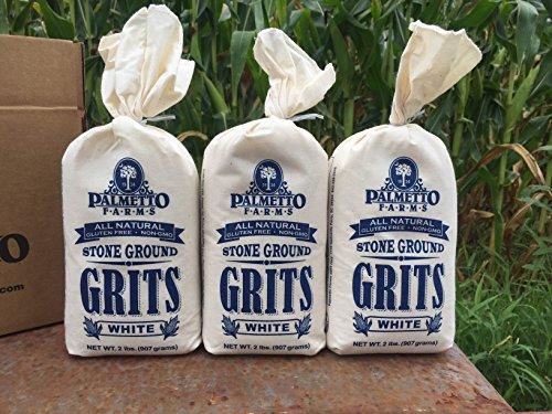 Palmetto Farms White Grits 3 Pack by Palmetto Farms