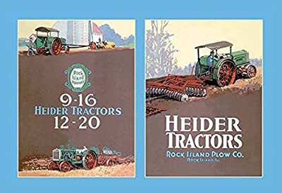 "Buyenlarge Heider Tractors - Gallery Wrapped 44""X66"" canvas Print., 44"" X 66"""""