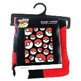 """Pokemon Pokeball 48"""" x 60"""" Throw Blanket"""