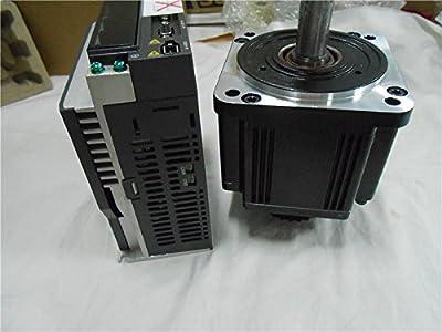 GOWE 2KW Delta Servo Motor Drive Kits 220V AC Servo System CNC 100mm 6.37NM 3000r/min ECMA-C11020RS+ASD-A2-2023-L with 3M cable