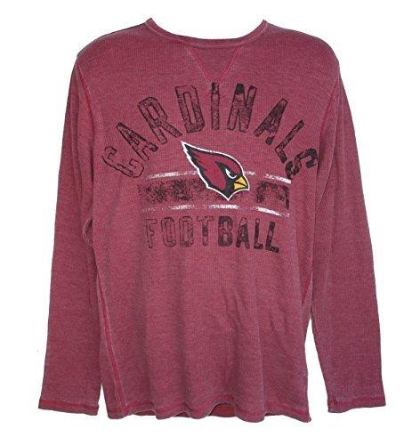 【返品交換不可】 Arizona XL長袖NFL Cardinalsサッカー大人用XL XL長袖NFL Authentic Distressedチームロゴ熱ワッフルシャツ – Cardinal – Red B06XQ58MVS B06XQ58MVS, 全国総量無料で:babaa225 --- a0267596.xsph.ru