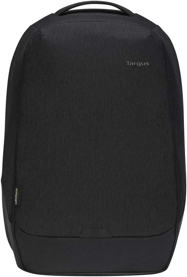 Targus Cypress Security Backpack with EcoSmart Designed for Business Traveler and School fit up to 15.6-Inch Laptop/Notebook, Black (TBB588GL)