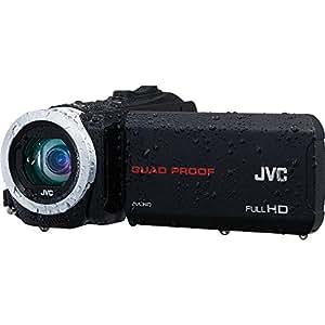 JVC Everio GZ-R70 Quad Proof Full HD Digital Video Camera Camcorder (Black)
