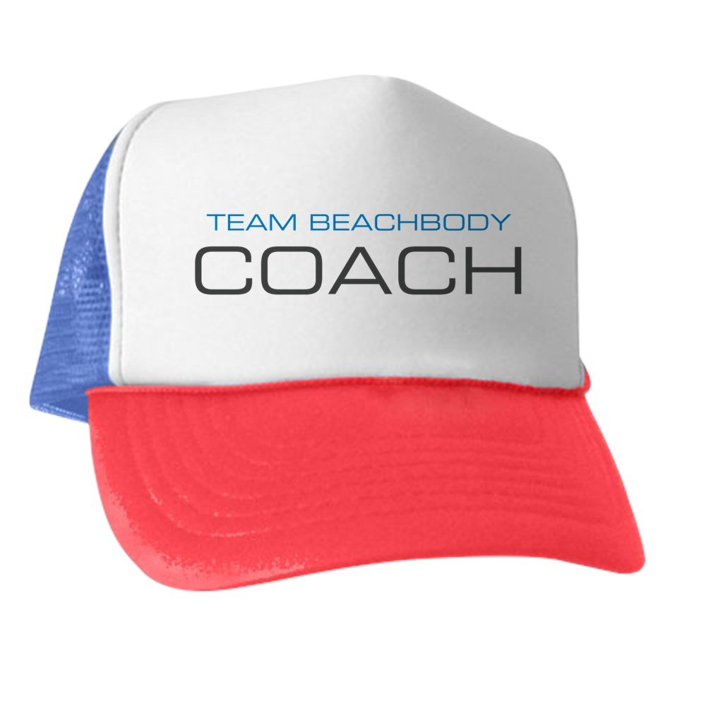 e325b34c299 Amazon.com  CafePress - Team Beachbody Coach - Trucker Hat