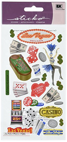 Sticko Classic Stickers-Las Vegas
