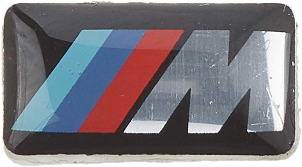 10//30X For BMW M Tec Sport Dashboard Badge M5 M6 3D Emblem Sticker Decal