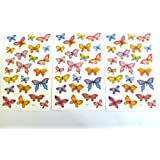 Butterfly Stickers - Kids / Childrens Labels for party bags , scrap books , card making or notebook decoration
