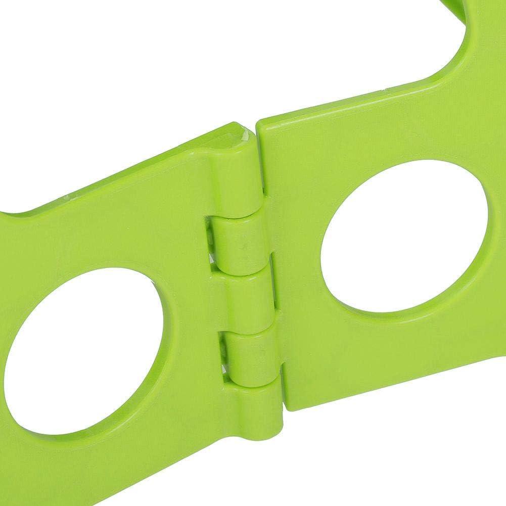 Beige MAGT Tabouret Pliable Tabouret de Marche Pliant Robuste et Robuste Tabouret en Plastique Portable Vivant Chaise Multicolore Tabouret antid/érapant pour Adultes