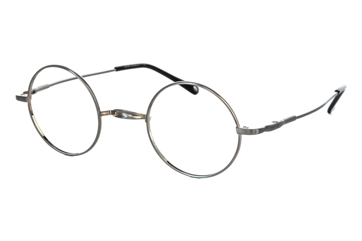 John Lennon Wheels Mens Eyeglass Frames - Silver/Gold