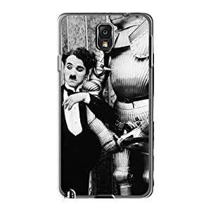 Quality Wade-cases Case Cover With Charlie Chaplin Nice Appearance Compatible With Galaxy Note 3 by supermalls