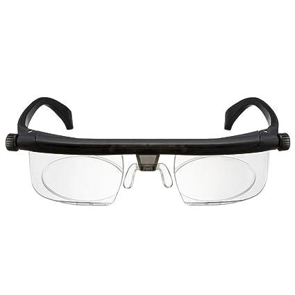7e2497be96 Americana Made Distribution Adlens Adjustable Glasses Variable Focus Power  Optics Technology For Seniors Women   Men  Amazon.in  Health   Personal Care