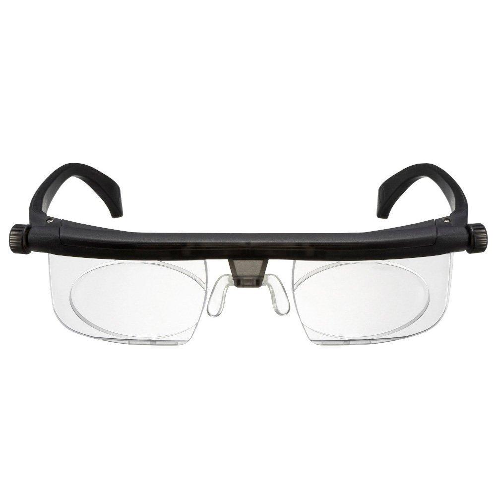 229e2c9f185 Adjustable Focus Eyeglasses - Variable Focus Instant Prescription –  Innovative Power Optics Technology - Great for Reading – For Seniors Women    Men