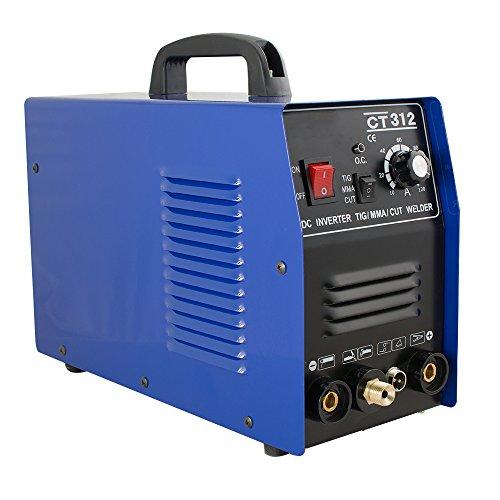Lolicute Welding Machine 3 in 1 CT312 TIG/MMA Air Plasma Cutter Welder Welding Torch Machine-Shipping From US