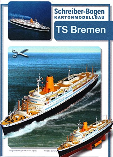 Schreiber - Bogen Ts Bremen Turbinship Card Model (Level House Split Kit)