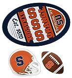 Syracuse Orange Jumbo Game Day Magnet, Helmet Magnet and Football Magnet Set