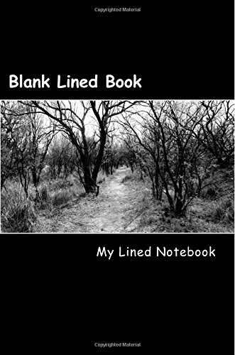 Blank Lined Book: Lined Notebook, 6 x 9, 108 Pages