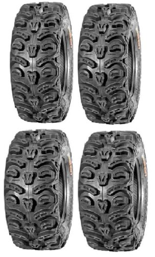 Bear Claw Small - Full set of Kenda Bear Claw HTR Radial (8ply) 26x9-12 and 26x11-12 ATV Tires (4)