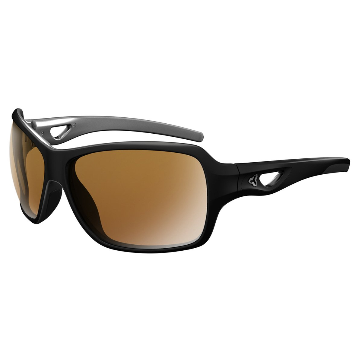 Ryders Eyewear Carlita偏光サングラス  POLAR BLACK-SILVER / BROWN LENS SILVER FM B01E81CSJW