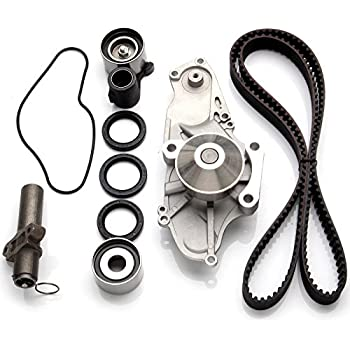 amazon eccpp timing belt water pump kit with valve cover gasket Integra Turbo Kit eccpp tbk286 timing belt tensioner water pump kit fits 99 04 acura honda 3 2l 3 5l sohc v6