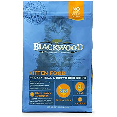 Blackwood Pet Food Kitten Food, Chicken Meal & Brown Rice Recipe