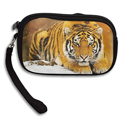 Receiving Portable Bag Printing Tiger Snow Small Deluxe Purse Wides 0RPq6xA