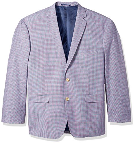 U.S. Polo Assn. Men's Big and Tall Fancy Cotton Sport Coat, Rainbow, 52 Long (Coat Cotton Athletic)