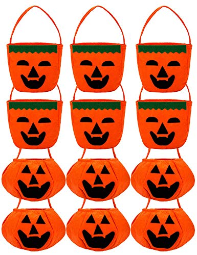 Halloween Candy Bags (100 Pack) - Black &