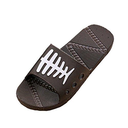 Slippers Anti slip Cartoon Men's Bath Black Sandals Hattie Rqx8YwEpn