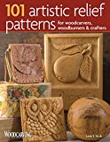 relief wood carving - 101 Artistic Relief Patterns for Woodcarvers, Woodburners & Crafters (Fox Chapel Publishing) Small Relief-Carving Designs, Easy-to-Follow Instructions & Detailed Photos (Woodcarving Illustrated Books)