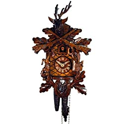 August Schwer Cuckoo Clock Hunting Clock Antique 1.0067.01.C