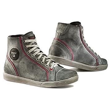 TCX X-Street Lady Waterproof Paire de Chaussures Moto Femme Grises et Roses 0a13b3b609a7