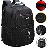 Extra Large Travel Laptop Backpack TSA Durable College School Computer Bookbag