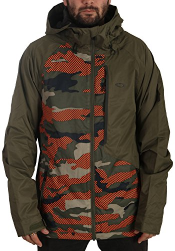 Oakley Jackpot 10K Bzs Jacket, Warning Camo, - Oakley Jacket Camo