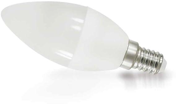 Led leuchtmittel kerze 8w e14 c37 matt 200° 640lm warmweiß 3000