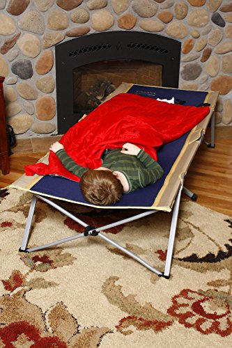 """BYER OF MAINE Easy Cot, Extra Large, 78""""L X 31""""W X 18"""", Holds 330lbs, Easy to assemble, Ideal for guest bed, Camp Cots for Adults, Folding Cot, Cot for Sleeping, Comes with Travel Bag, Single"""