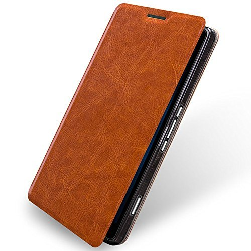 the latest 8765c 9f6e0 Essential Phone PH-1 Case,Mustaner Wallet case w/flip cover Pu Leather  Multi-angle Stand for Essential Phone PH-1 (Brown)