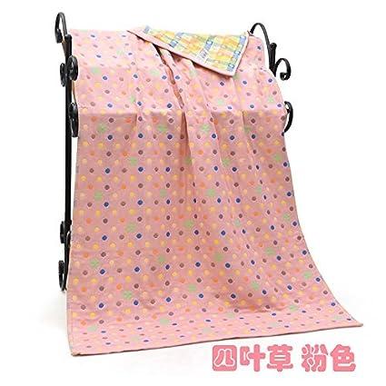 MiGMV Toallas de baño de algodón puro cartoon suaves y finas, secado rápido toalla de