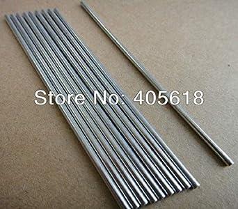 Amazon.com: Ochoos 5 barras de acero inoxidable de 0.276 in ...