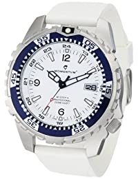 Momentum Men's M1 Deep 6 Rubber Dive Watch White 1M-DV06WS1W