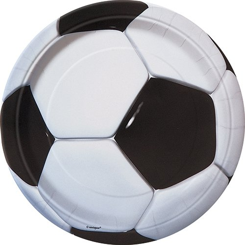 Soccer Party Paper Plates, 8ct]()