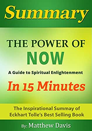 Amazon Com The Power Of Now A Guide To Spiritual