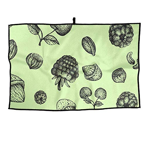 Sunset Pinecones - Horizon-t Pine Cones Microfiber Golf Wet Dry Towels for Golf Running
