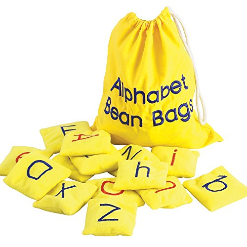 Educational Insights Alphabet Beanbags (Educational Insights Bean Bags)