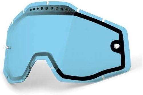 100/% Unisex-Adult Speedlab 51006-002-02 RACECRAFT//ACCURI//STRATA Vented Dual Pane Lens Anti-Fog-Blue, Free Size